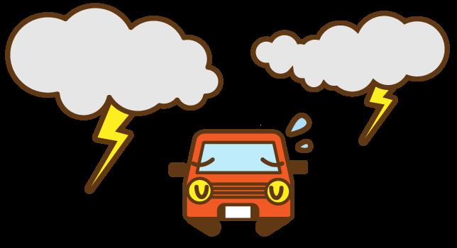 台風時の営業について